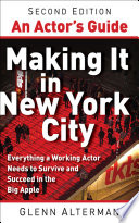 An Actor s Guide  Making It in New York City