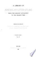 Literature of the republic  pt 1  Constitutional period  1788 1820 Book PDF