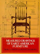 Measured Drawings of Early American Furniture