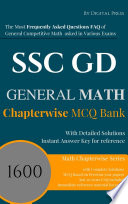 Math Chapterwise Solved Questions SSC GD CONSTABLE