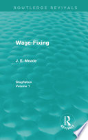 Wage Fixing  Routledge Revivals  Book