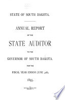 Annual Report of the State Auditor for the Fiscal Year Ending ...