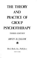 Theory And Practice Of Group Therapy  3d Ed