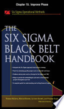The Six Sigma Black Belt Handbook Chapter 15 Improve Phase Book PDF