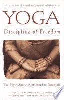 Yoga  Discipline of Freedom Book