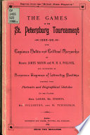 The Games in the St  Petersburg Tournament 1895 96