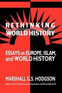 Rethinking World History
