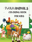 Farm Animals Coloring Books for Kids