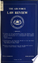 The Air Force Law Review Book PDF