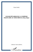 Pdf LES SOCIÉTAIRES DE LA COMÉDIE FRANCAISE AU XIXe SIÈCLE (1815-1852) Telecharger