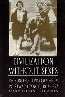 Civilization without Sexes