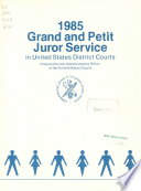 Grand and Petit Juror Service in the United States District Courts