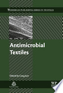 Antimicrobial Textiles Book