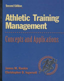 Athletic Training Management Book