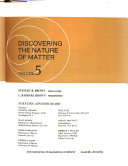 The Realm of Science  Discovering the nature of matter