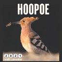 Hoopoe 2021 Wall Calendar