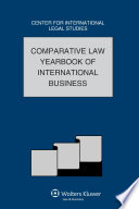 The Comparative Law Yearbook Of International Business Book