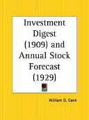 1909 Investment Digest And 1929 Annual Stock Forecast PDF