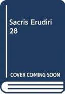 Sacris Erudiri 28