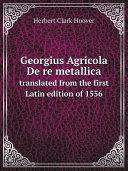 Pdf Georgius Agricola De re metallica Telecharger