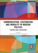 Communication, Legitimation and Morality in Modern Politics Pdf/ePub eBook
