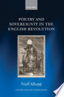 Poetry and Sovereignty in the English Revolution