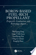 Boron Based Fuel Rich Propellant Book