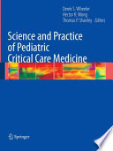 Science and Practice of Pediatric Critical Care Medicine Book