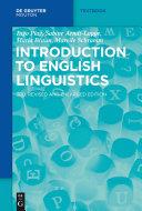 Introduction to English Linguistics