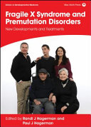 Fragile X Syndrome and Premutation Disorders Book