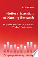 Notter S Essentials Of Nursing Research