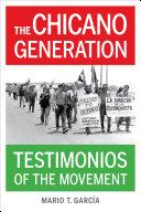 The Chicano Generation Pdf/ePub eBook
