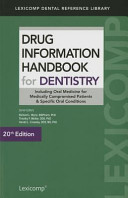 Drug Information Handbook for Dentistry