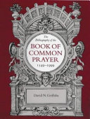 The Bibliography of the Book of Common Prayer  1549 1999