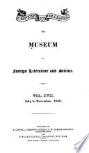 The Museum Of Foreign Literature And Science Book