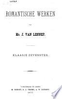 Romantische Werken Van Mr J Van Lennep