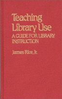 Teaching Library Use