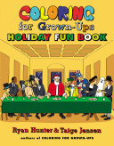 Coloring for Grown Ups Holiday Fun Book