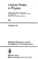 Statistical mechanics and the foundations of thermodynamics
