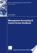 Management Accounting   Control Scales Handbook