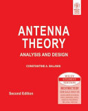 ANTENNA THEORY: ANALYSIS AND DESIGN, 2ND ED