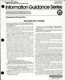 Information Guidance Series