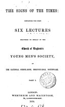 Pdf The signs of the times, lectures