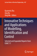 Innovative Techniques and Applications of Modelling  Identification and Control