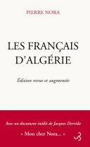 Pdf Les Français d'Algérie