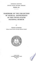 Handbook of the Collection of Musical Instruments in the United States National Museum
