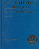 Rehabilitation Techniques In Sports Medicine Book PDF