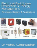 Electrical Switchgear  Protection   Energy Management