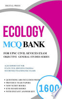 UPSC Subjectwise Objective GS Series: ECOLOGY