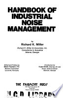 Handbook Of Industrial Noise Management